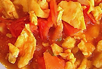 回味版---西红柿炒鸡蛋的做法