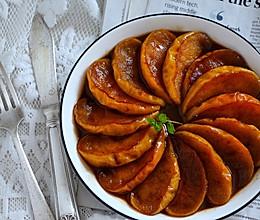 肉桂红糖煎苹果的做法
