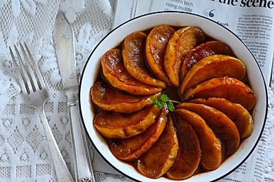 肉桂红糖煎苹果