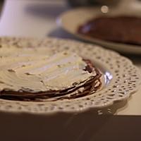 可可千层蛋糕的做法图解12