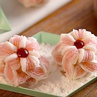 【芙蓉酥】面团做出一朵花,色香味全酥掉渣!的做法图解9