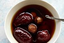姜丝红枣桂圆茶的做法