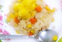 最简单的菠萝炒饭的做法