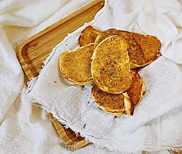 #换着花样吃早餐#香酥烤馍片的做法