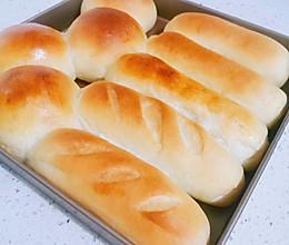 【中种】淡奶油软面包--超级软拉丝的做法