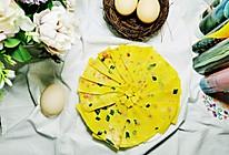 #美食视频挑战赛# 火腿鸡蛋饼的做法