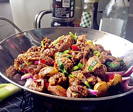 干锅鸡杂#我要上首页下饭家常菜#的做法