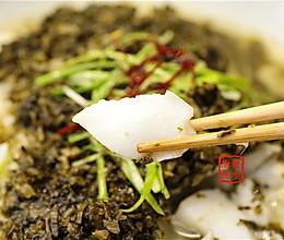 曼步厨房 - 杭帮菜 – 雪菜蒸鳕鱼的做法