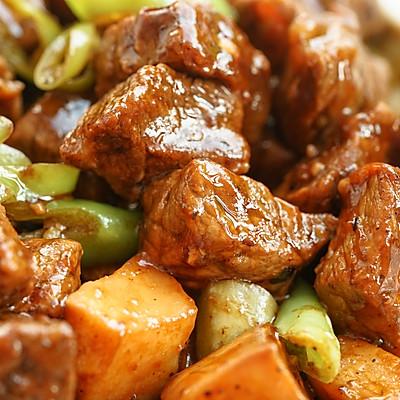 日食记 | 黑椒杏鲍菇牛肉粒