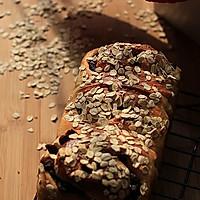 【豆浆麦片纯素吐司】——给茹素老人的面包的做法图解1