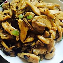 香菇炒鸡胸肉