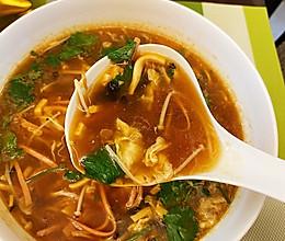 减肥减脂喝了让你有饱腹感的酸辣汤的做法
