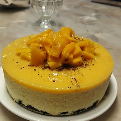 芒果慕斯蛋糕六寸