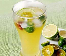 金桔柠檬水果茶的做法