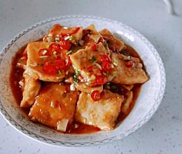 #牛气冲天#香煎豆腐的做法