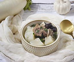 白萝卜牛脊骨汤(快手高压锅版)的做法