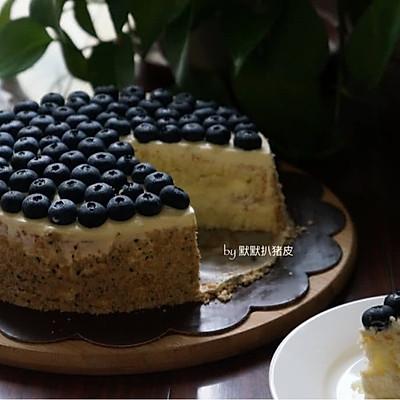 热带风情「蓝椰蛋糕」