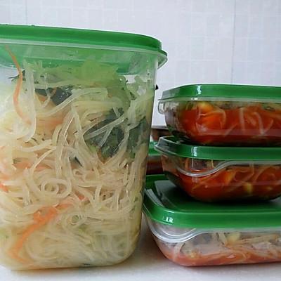 韩式小菜 凉拌土豆丝 凉拌黄豆芽