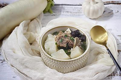 白萝卜牛脊骨汤(快手高压锅版)