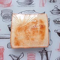 火腿芝士蛋三明治#百吉福食尚达人#的做法图解10