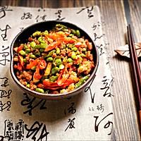 家常菜-辣椒毛豆炒肉沫的做法图解13