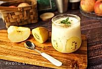 #秋天怎么吃#苹果优格润燥开胃的做法