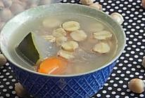 鲜莲冬瓜猪骨汤的做法