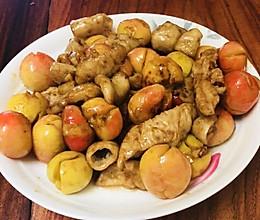 网红菜-李子炒大肠的做法