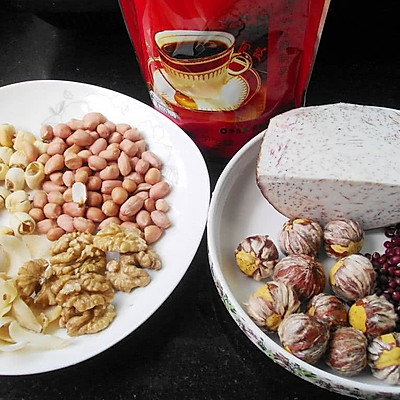 八宝甜羹汤的做法 步骤1