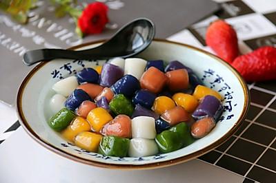 种口味手工芋圆&六种汤底&黑凉粉制作: