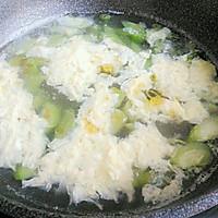 丝瓜鸡蛋汤#我要上首页挑战家常菜#的做法图解9