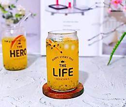 #夏日冰品不能少#百香果柠檬蜂蜜冰饮的做法