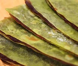 翡翠豆沙煎饼的做法