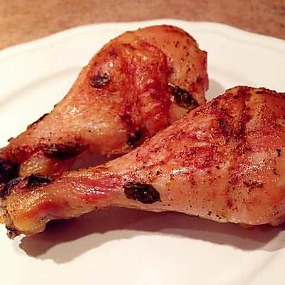 罗勒蒜香小番茄烤鸡腿(铸铁锅烤箱菜)