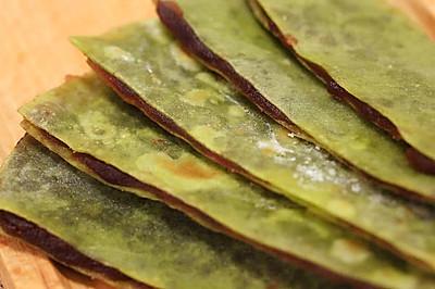 翡翠豆沙煎饼