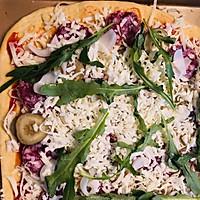 #硬核菜谱制作人#西部乡村披萨全麦版的做法图解8