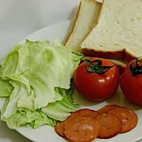 火腿三明治的做法图解1