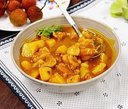 咖喱土豆鸡盖浇饭·小美的美食的做法