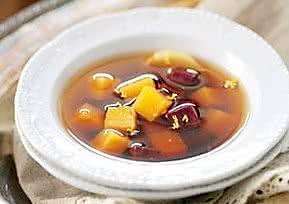 红糖姜茶煮双薯的做法