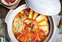 辣白菜豆腐汤#换着花样吃早餐#的做法