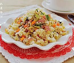 榨菜培根炒饭——乌江榨菜的做法