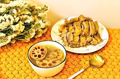 消暑莲藕绿豆汤(附蘸酱做法)