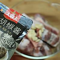 【黑椒酱烤排骨】——零厨艺也能烤出超美味的做法图解5
