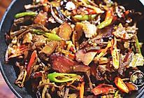 干锅腊肉茶树菇   味蕾时光的做法