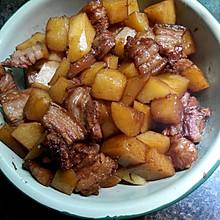 红烧五花肉土豆