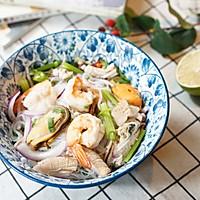 #美食新势力#泰式海鲜粉丝沙拉的做法图解9