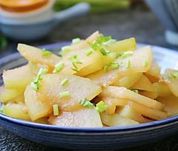 素炒冬瓜片的做法