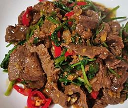 香菜辣牛肉的做法