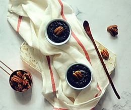 黑芝麻碧根果酱的做法