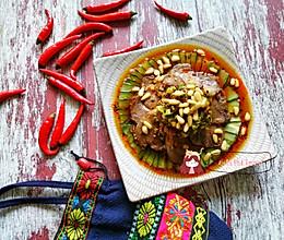 十分钟快手菜--红油拌牛肉的做法